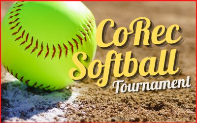 CoRec Softball TournamentAugust 27-29, 2021