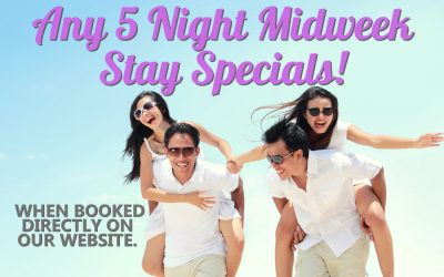 Special – Midweek 5-Day Stay – 2021