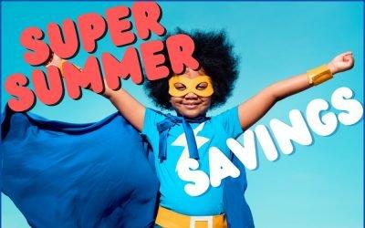 Special – Super Summer Savings – June 2021